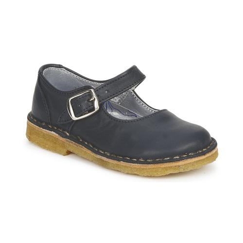 Shoes Girl Flat shoes Pinocchio LIANIGHT Marine
