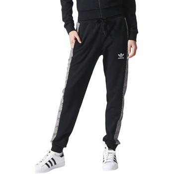 Clothing Women Tracksuit bottoms adidas Originals Shell Cuff TP Black
