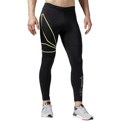 Clothing Men Leggings Reebok Sport One Series Run Black