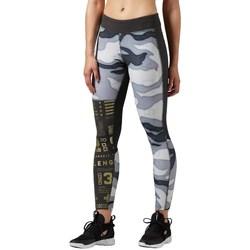 Clothing Women Leggings Reebok Sport One Series Elite White, Black, Grey