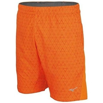 Clothing Men Shorts / Bermudas Mizuno Helix Printed Square 85 Orange