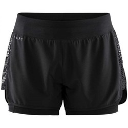 Clothing Women Shorts / Bermudas Craft Charge 2 IN 1 Black