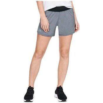 Clothing Women Shorts / Bermudas Under Armour Launch SW GO Long Short Grey