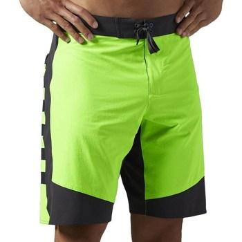 Clothing Men Shorts / Bermudas Reebok Sport OS Cordura 1SH Celadon,Black