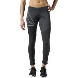 Clothing Women Leggings Reebok Sport One Series Running Graphite