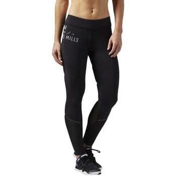 Clothing Women Leggings Reebok Sport LM Bonded Tight Black