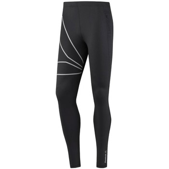 Clothing Men Leggings Reebok Sport One Series Running Hero Black