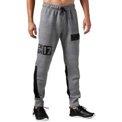 Clothing Men Tracksuit bottoms Reebok Sport One Series Quick Grey
