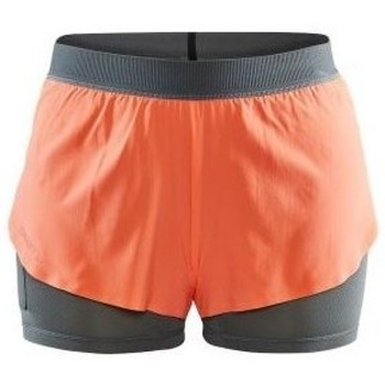 Clothing Men Shorts / Bermudas Craft Vent 2IN1 Racing Shorts Black, Orange