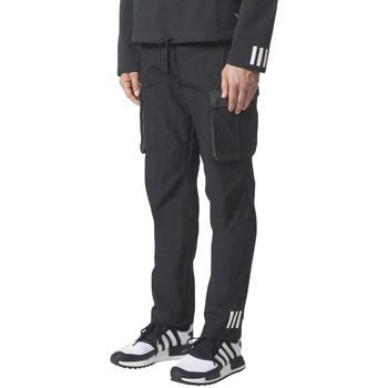 Clothing Men Cargo trousers adidas Originals Originals White Mountaineering 6 Pocket Black