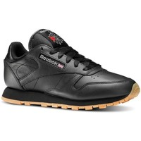 Shoes Women Low top trainers Reebok Sport Classic Leather Black