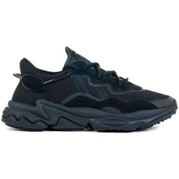Shoes Children Low top trainers adidas Originals Ozweego J Black