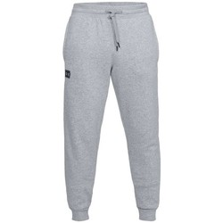 Clothing Men Tracksuit bottoms Under Armour Rival Fleece Jogger Grey