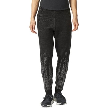 Clothing Women Tracksuit bottoms adidas Originals Zne Pulse Knit Pants Black