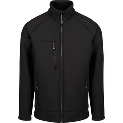 Clothing Men Fleeces Professional NORTHWAY Quick-Dry Softshell Jacket Black