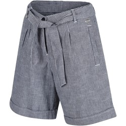 Clothing Women Shorts / Bermudas Regatta SAMORA Organic Cotton Shorts Blue