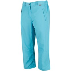 Clothing Women Shorts / Bermudas Regatta Women's Chaska Capri Walking Trousers Blue
