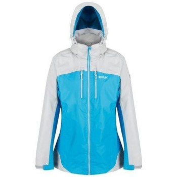 Clothing Women Macs Regatta Calderdale II Waterproof Shell Jacket Blue Blue