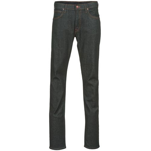 Clothing Men slim jeans Lee LUKE Blue / Raw