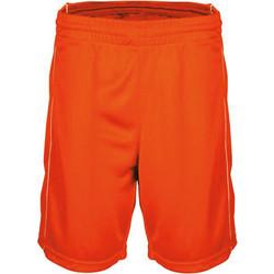 Clothing Men Shorts / Bermudas Proact Short  Basket-Ball orange