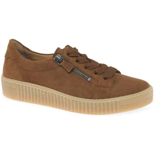 Shoes Women Low top trainers Gabor Wisdom Womens Casual Shoes brown