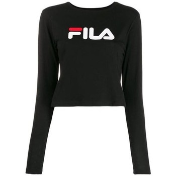 Clothing Women Sweaters Fila Women Marceline Cropped White, Black