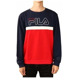 Clothing Men Sweaters Fila Men Laurus Crew Sweat Black, Red