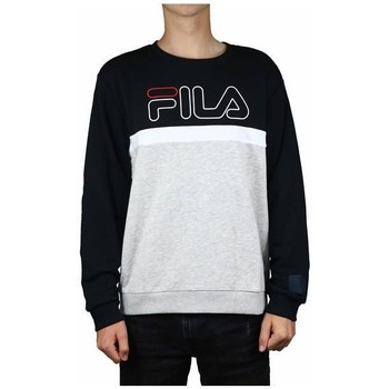 Clothing Men Sweaters Fila Men Laurus Crew Sweat Black, Grey