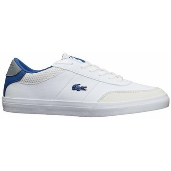 Shoes Women Low top trainers Lacoste Court Master 120 2 Cuj White, Blue