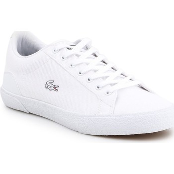 Shoes Men Low top trainers Lacoste Lerond White