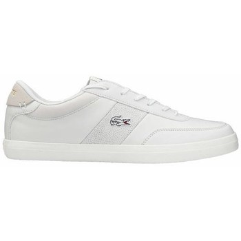 Shoes Men Derby Shoes & Brogues Lacoste Court Master 120 2 Cma White