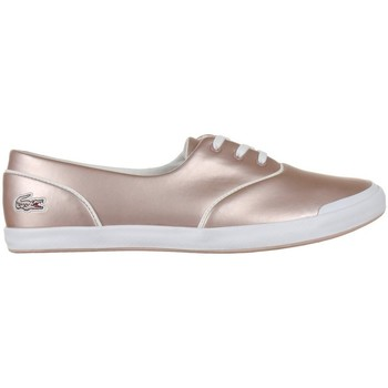 Shoes Women Low top trainers Lacoste Lancelle 3 Eye 117 1 Caw White,Pink