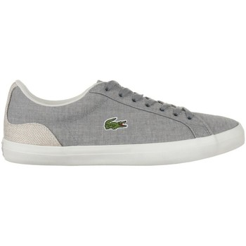 Shoes Men Low top trainers Lacoste Lerond 218 1 Cam White, Grey