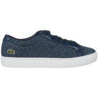 Shoes Women Low top trainers Lacoste L 12 12 317 2 Caw White, Navy blue
