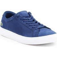 Shoes Men Low top trainers Lacoste 731CAM0138120 White, Blue