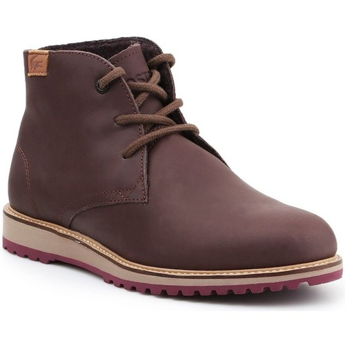 Shoes Women Mid boots Lacoste Manette Brown