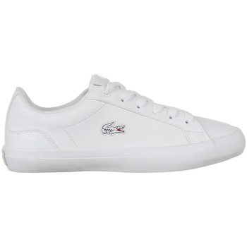 Shoes Women Low top trainers Lacoste Lerond 118 1 Qsp Caw White