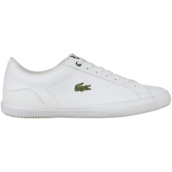 Shoes Men Low top trainers Lacoste Lerond 418 3 JD Cma White