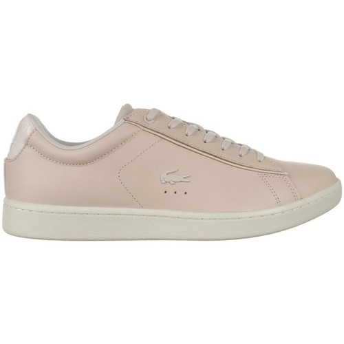 Shoes Women Low top trainers Lacoste Carnaby Evo 417 1 Spw Beige