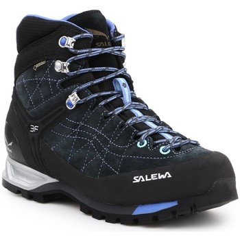 Shoes Women Walking shoes Salewa WS Mtn Trainer Mid Gtx Black,Navy blue