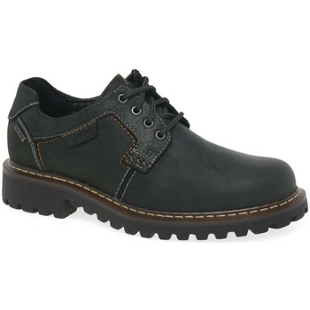 Shoes Men Derby Shoes Josef Seibel Chance 08 Mens Waterproof Casual Shoes black