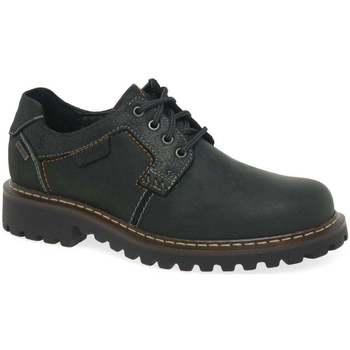 Shoes Men Derby Shoes Josef Seibel Chance 08 Mens Waterproof Casual Shoes black