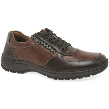 Shoes Men Derby Shoes Rieker Ambleside Mens Casual Shoes brown