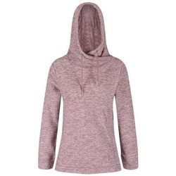 Clothing Women Fleeces Regatta Women's Kizmit II Hooded Marl Fleece Purple
