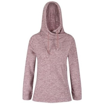 Clothing Women Fleeces Regatta Kizmit II Hooded Marl Fleece Pink Pink
