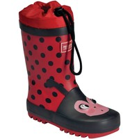Shoes Children Wellington boots Regatta MUDPLAY JUNIOR Wellingtons Yellow Bee Red Red