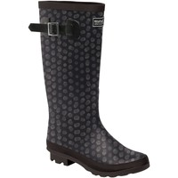 Shoes Women Wellington boots Regatta LADY FAIRWEATHER II Wellingtons Burgundy Black Black