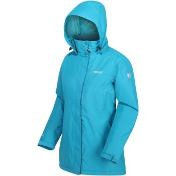 Clothing Women Coats Regatta Blanchet II Waterproof Insulated Jacket Blue Blue