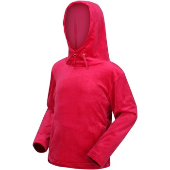 Clothing Children Fleeces Regatta Kacie Hooded Fleece Light Vanilla Pink Pink
