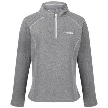 Clothing Women Fleeces Regatta Kenger Half Zip Honeycomb Fleece Petrol Blue Grey Grey